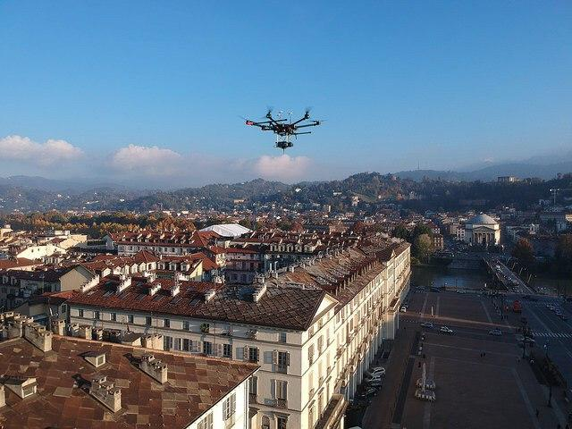Video drone su torino