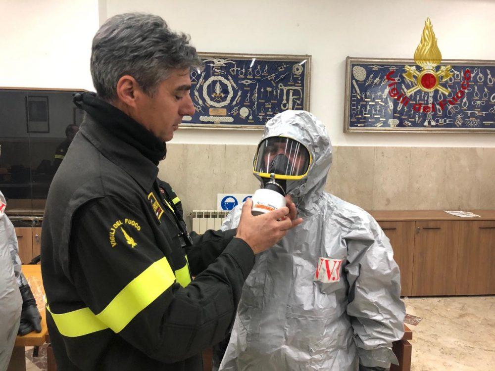 Coronavirus: sono in distribuzione le nuove mascherine di protezione per tutti i Vigili del Fuoco