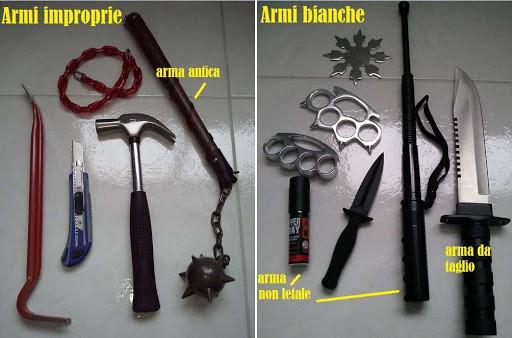 arma bianca